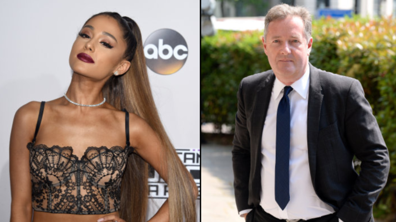 Piers Morgan's Son Says His Chances With Ariana Grande Are Ruined After Dad's Comments