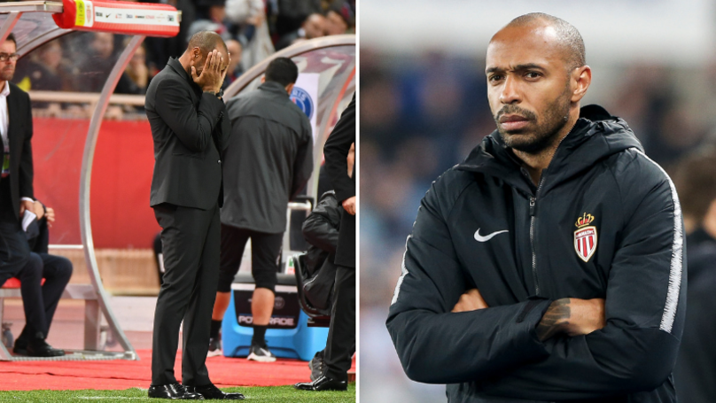 Thierry Henry Looks Set To Lose Monaco Job Just 20 Games In