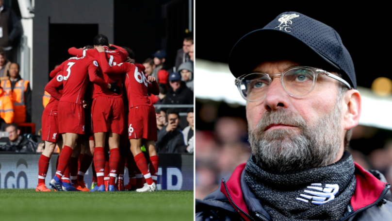 Liverpool Return To The Top Of The Premier League After Beating Fulham