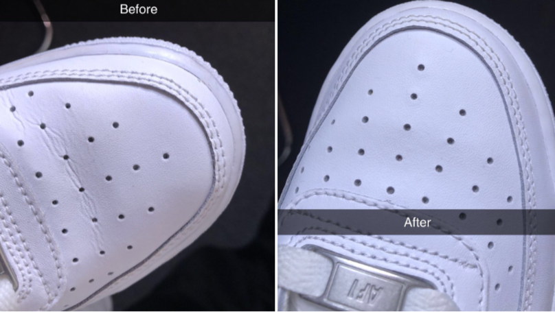 This Genius Hack Promises To Get Rid Of All The Creases In Your Trainers