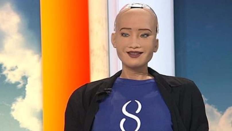 Robot Issues Chilling Warning To World On Live TV