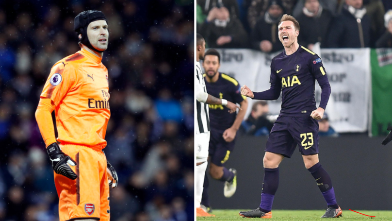 Petr Cech Accidentally Helped Christian Eriksen Score Against Juventus
