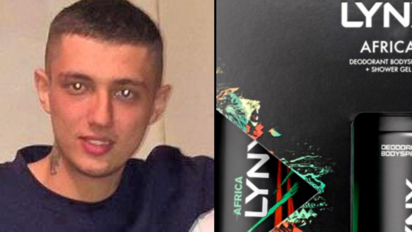 Man Punches Hole Through A Door After Finding Out Girlfriend Bought Him Lynx Set For Christmas