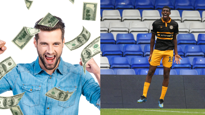 97th minute AND 98th minute goals win plucky punter £84k from just a FIVER