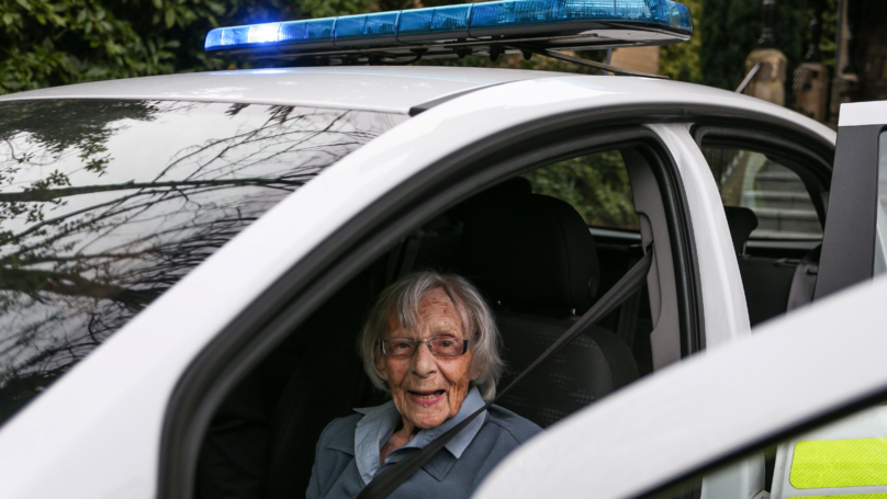 104-Year-Old Woman Is Granted Her Greatest Wish - To Be Arrested