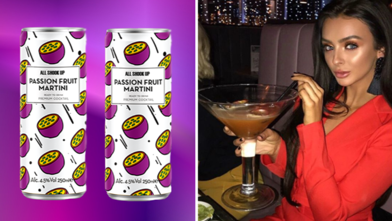 Bottoms Up: Tesco Is Selling Cans Of Passion Fruit Martini For £1.25