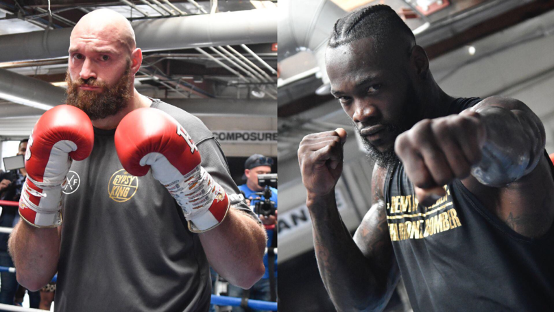 Fury Says He Wants Wilder To Knock Him Out As Press Conference Descends In Chaos