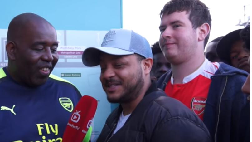 Troopz Responds To Michy Batshuayi Tweets About Arsenal Fan TV | SPORTbible
