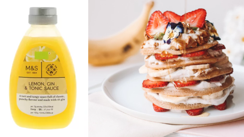 M&S Is Selling A Lemon, Gin And Tonic Sauce For Pancake Day