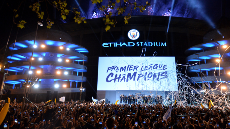 Manchester City Title Winners Voted Best Ever Premier League Team