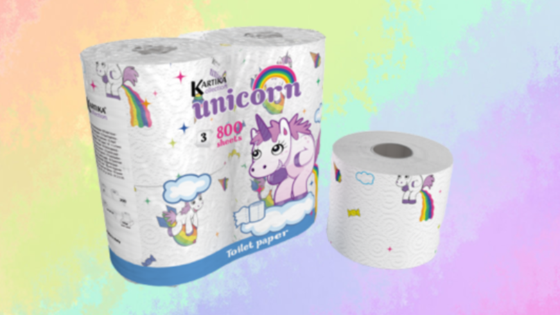 ​Fulfil Your Unicorn Fantasies With Unicorn Toilet Roll