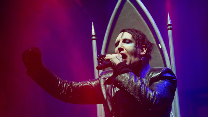 ​Marilyn Manson Addresses Rumour That He Had A Rib Removed For... Well, You Know