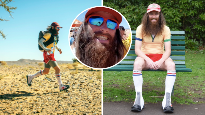The Real-Life Forrest Gump Finishes The 'Hardest Marathon In The World'
