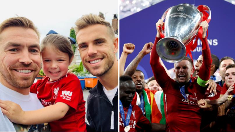 Jordan Henderson's Gesture To Fan Who Was Struggling For Champions League Final Ticket