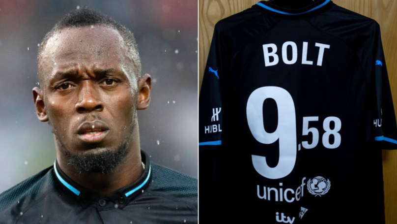 A Player Reached A Higher Max Speed Than Usain Bolt During Soccer Aid