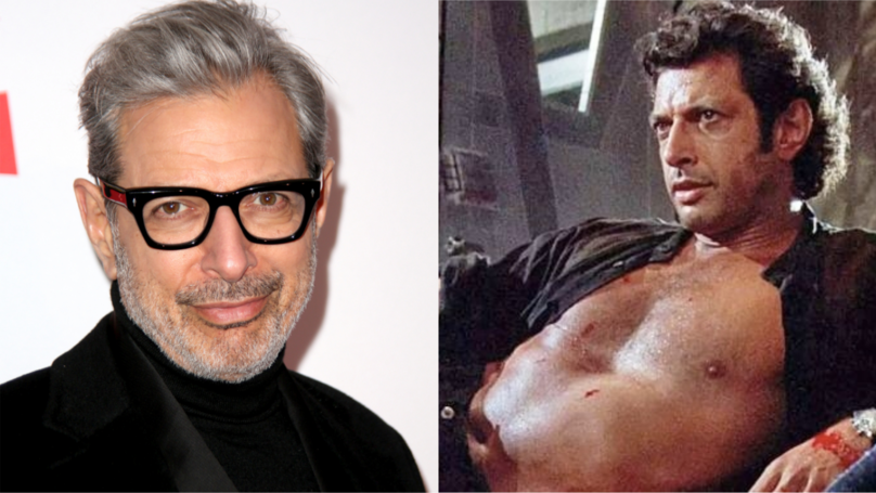 Jeff Goldblum's Iconic Shirtless Scene In 'Jurassic Park' Was Completely Unscripted