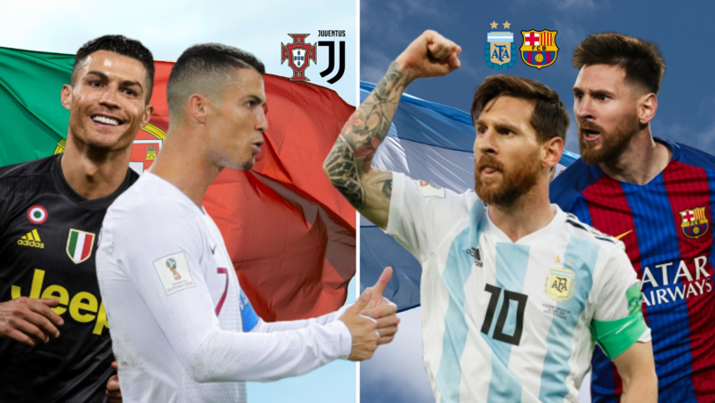 Messi And Ronaldo's Goalscoring Stats Show Why They Are The Greatest Of All Time