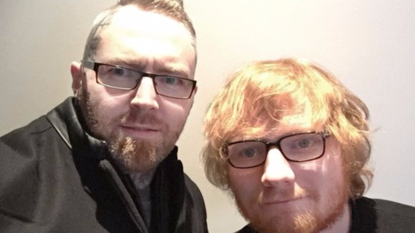 Ed Sheeran Helped Save This Tattoo Artist's Business