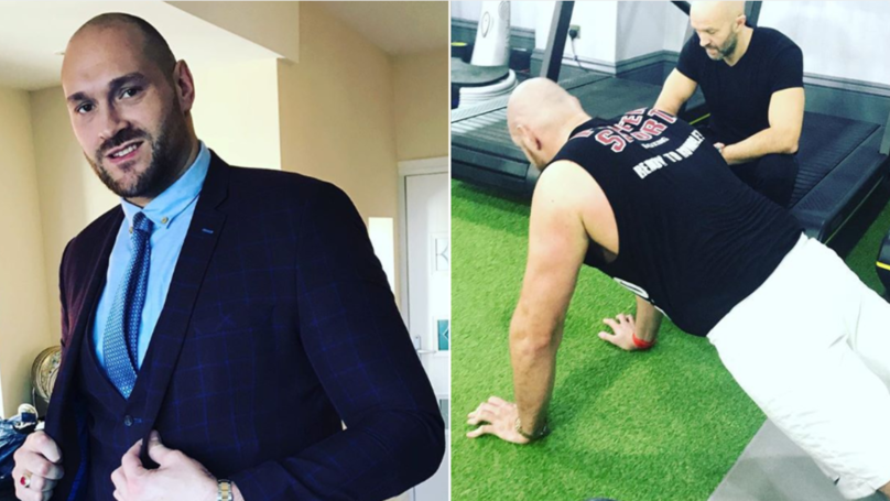 Tyson Fury Plans To Become A Qualified Doctor After His Boxing Days Are Over