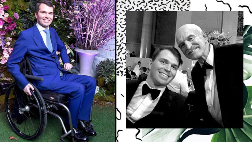 Man Who Was Paralysed In Tragic Accident Goes On To Become Millionaire