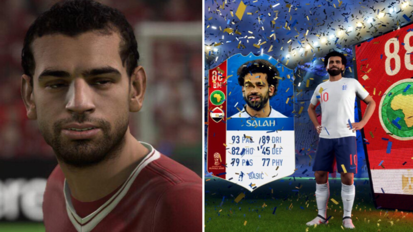 Mohamed Salah Actually Looks Like Himself In FIFA Update