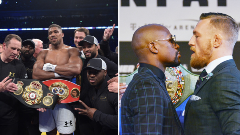 Anthony Joshua Reveals The Two UFC Stars He'd Like To Fight