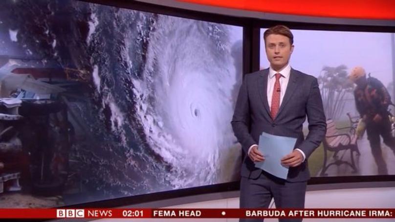 BBC News Presenter In Camera Blunder Ahead Of Headline Story