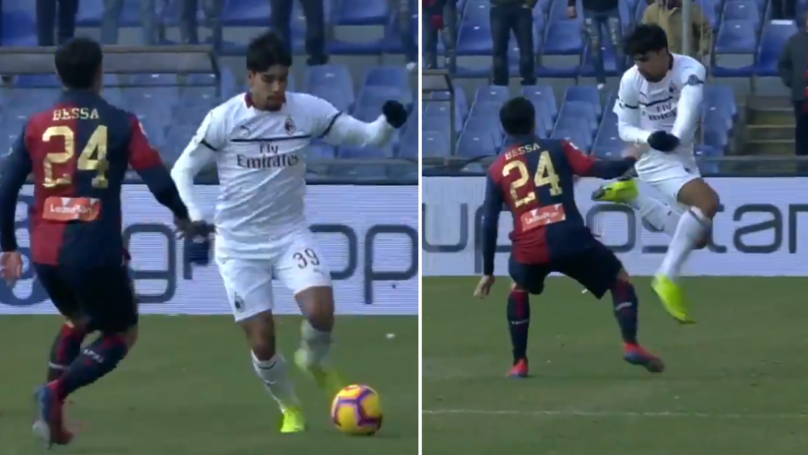 AC Milan's Lucas Paqueta Absolutely Destroys Daniel Bessa With Outrageous Rainbow Flick