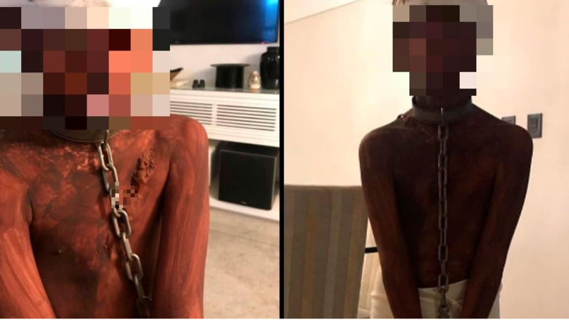 'Racist' Mum Dresses Up Son As A Whipped Slave For Halloween