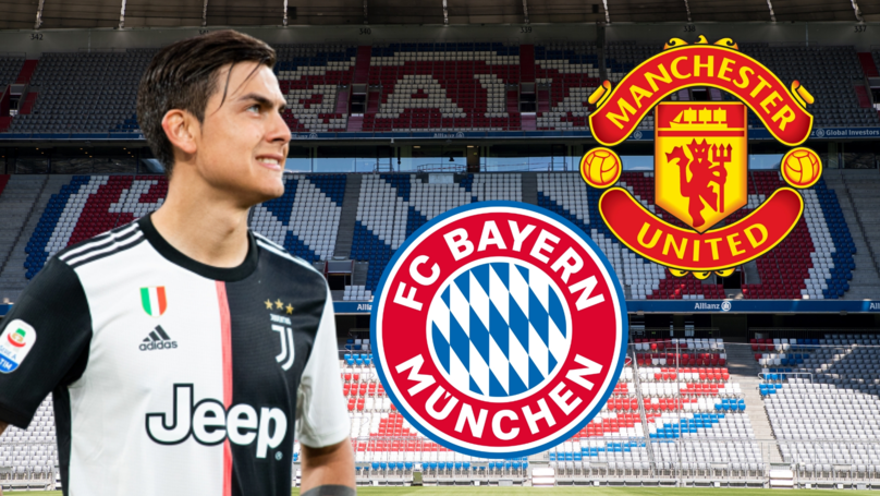 Bayern Munich To Hijack Manchester United's Move For Paulo Dybala With £80m Bid