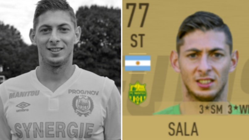EA Sports Remove Emiliano Sala From Nantes Squad On FIFA 19