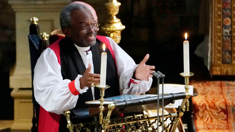 The Bishop At The Royal Wedding Completely Stole The Show
