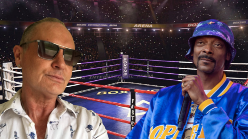 Paul Gascoigne Challenges Snoop Dogg To Charity Boxing Match