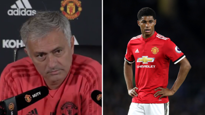 Jose Mourinho Goes On Massive Rant To Defend Marcus Rashford Playing Time