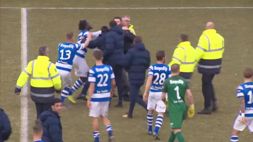 Hooligans Attack Players And Stewards During Dutch Football Game