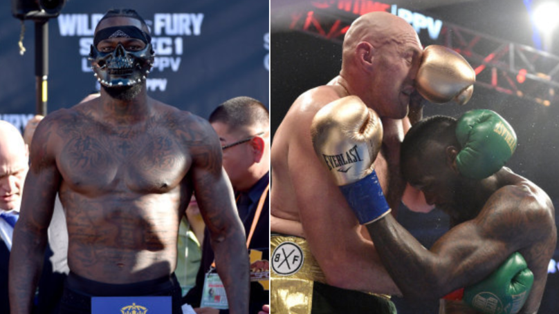 What Deontay Wilder Is Planning To Do Ahead Of Tyson Fury Rematch Is A Smart Move