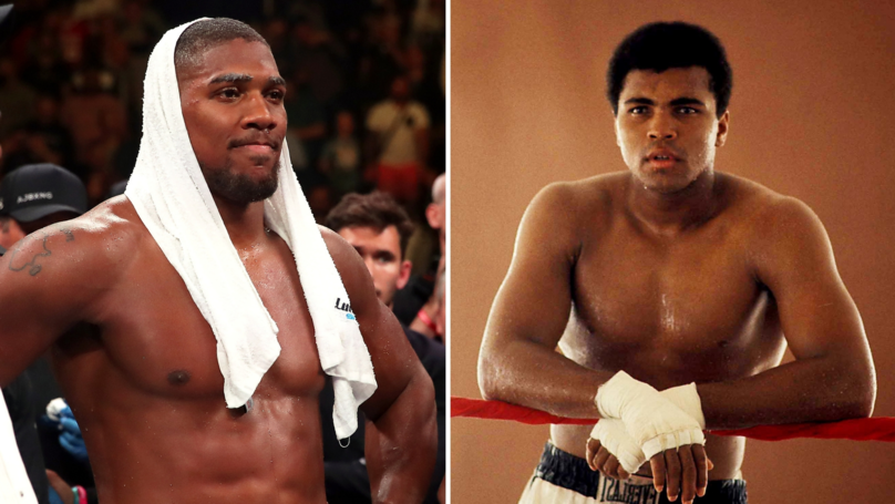 Boxing Forum Post Asked Who Would Win Out Of Anthony Joshua And Muhammad Ali