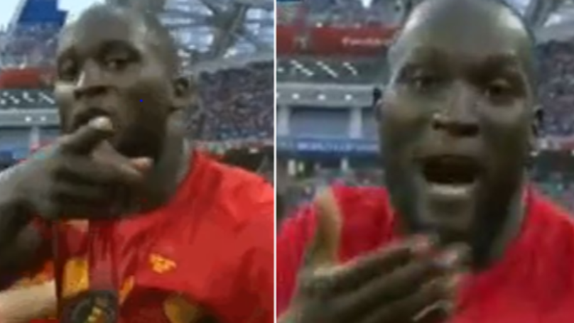 Romelu Lukaku Celebrated Belgium Goal With Touching Message For His Mum