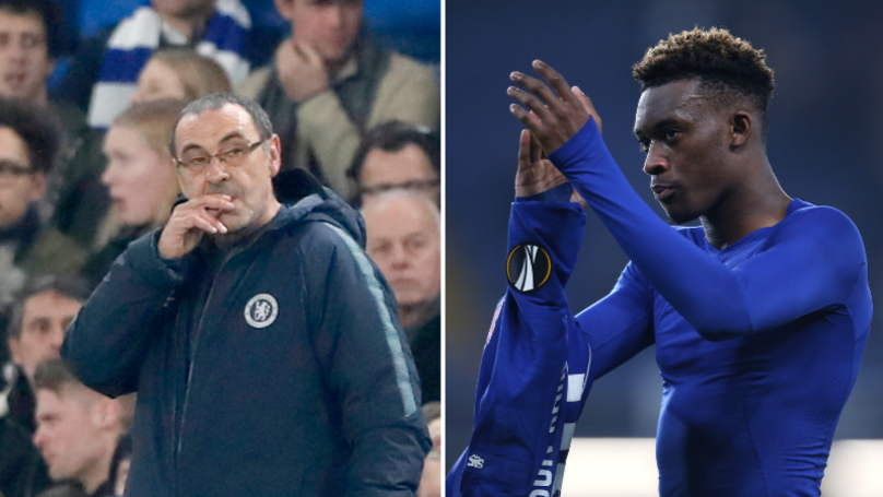 Maurizio Sarri Explains What Needs To Happen For Callum Hudson-Odoi To Play More