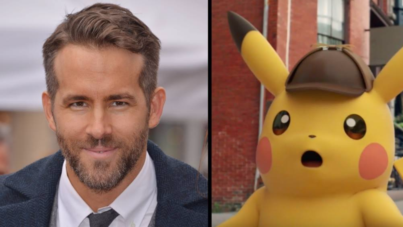Ryan Reynolds Cast To Play Pikachu In 'Detective Pikachu' Movie