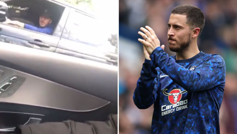Eden Hazard's Brilliant Response To Fans Asking If He Is Staying At Chelsea
