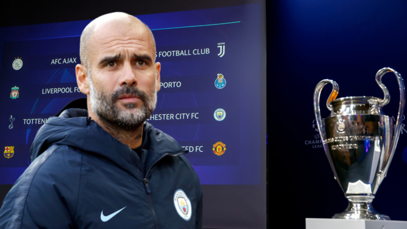 Manchester City Are Most Likely To Win The Champions League This Season