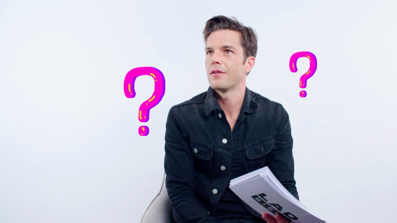 The Killers' Brandon Flowers Gives Life Advice On Wedding Songs, Balding And Sausages