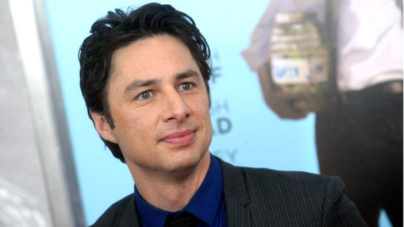 ​Zach Braff Discovers His Face Is Now Being Used To Cure Erectile Dysfunction