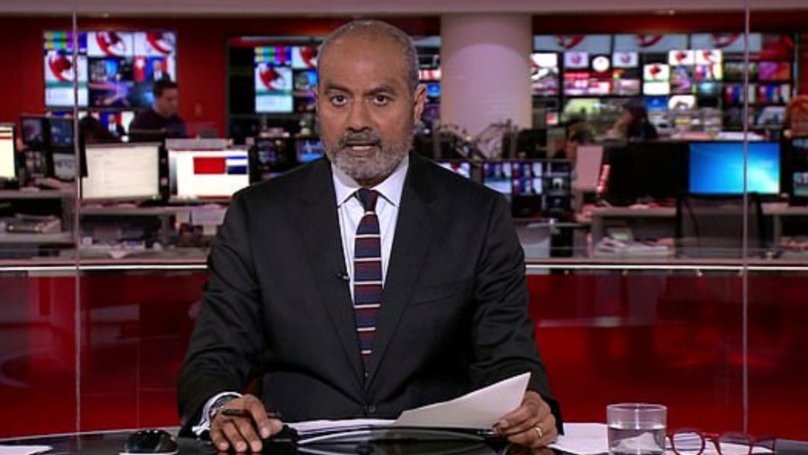 BBC's George Alagiah Presents News For First Time In Over A Year After Battling Cancer