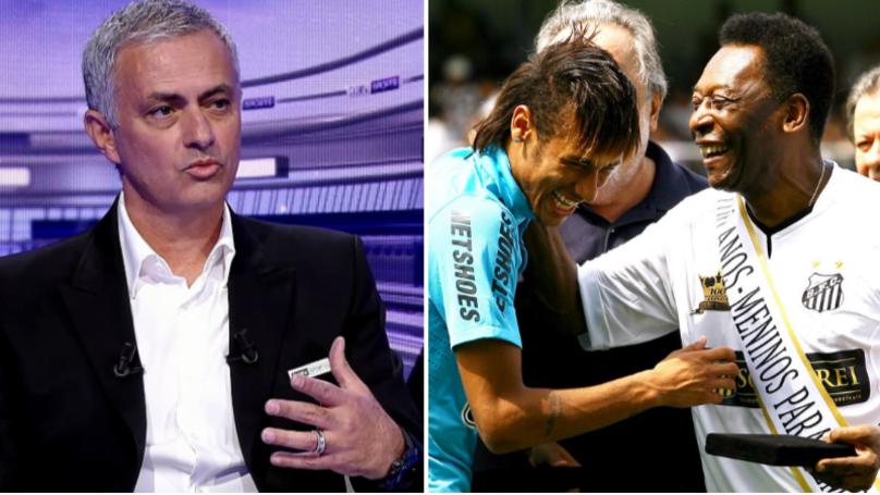 Jose Mourinho Has His Say On Whether Neymar Is The Greatest Brazilian Player Since Pele
