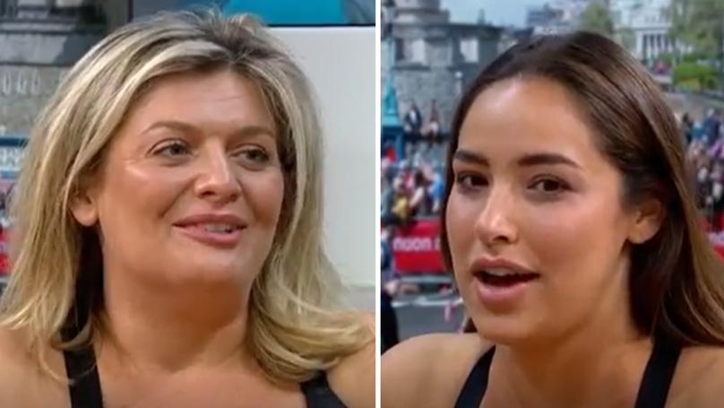 d563d3eba996c WATCH  These Two Women Are Running The London Marathon In Underwear