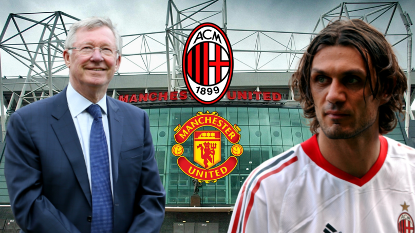 What Happened When Sir Alex Ferguson Tried To Sign Paolo Maldini From AC Milan