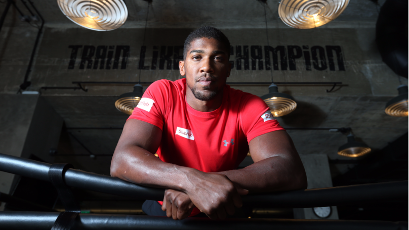 Anthony Joshua Has Issued A Warning To The UFC Fighters Calling Him Out