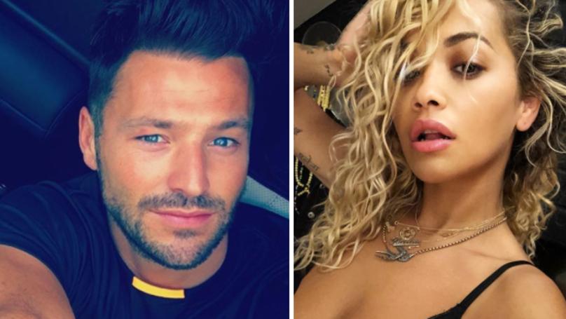 Mark Wright 'Likes' Rita Ora's Daring Instagram Selfie
